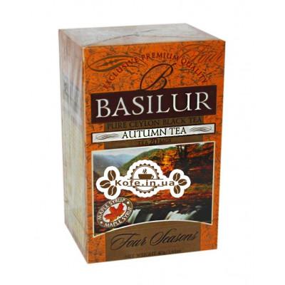 Чай BASILUR Autumn Tea Осенний - Времена Года 20 х 1,5 г (4792252915756)