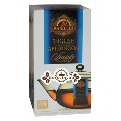 Чай BASILUR English Afternoon Английский Полдник - Избранная Классика 10 х 4 г (4792252932357)