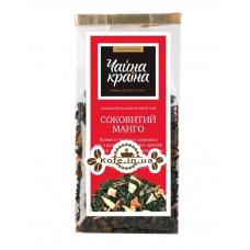 Сочный Манго купаж черного и зеленого чая Чайна Країна - Дольче Вита 100 г п/п