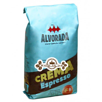 Кофе ALVORADA Crema Espresso зерновой 500 г (9002517300049)
