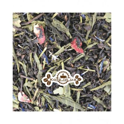 Искры Шампанского купаж черного и зеленого чая Світ чаю