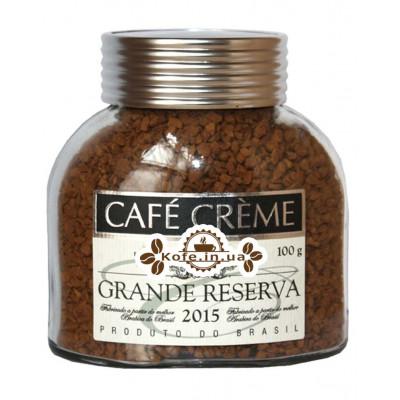 Кава Cafe Creme Grande Reserva розчинна 100 г ст. б.