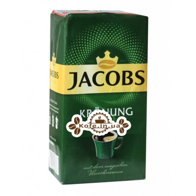 Кофе Jacobs Kronung Verwohn Aroma молотый 500 г (4000508076688)