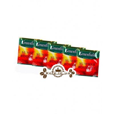 Чай Greenfield Summer Bouquet Малина 100 х 1,5 г эконом. упаковка