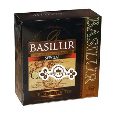 Чай BASILUR Special Особый - Чайный Остров 100 х 1,5 г (4792252925922)