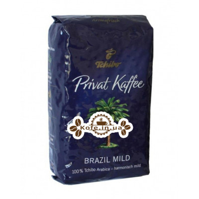 Кава Tchibo Privat Kaffee Brazil Mild зернова 500 г (4006067081064)