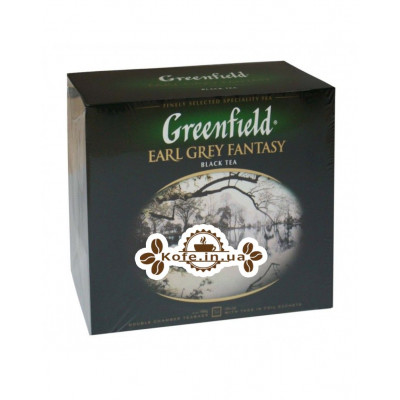 Чай Greenfield Earl Grey Fantasy Эрл Грей 50 х 2 г (4823096806716)