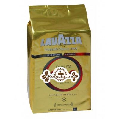 Кава Lavazza Qualita Oro зернова 1 кг (внутрішній ринок) (8000070012660)