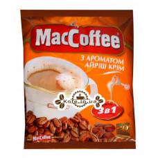 Кава MacCoffee 3в1 Irish Cream Ірландський Крем розчинна 20 х 18 г економ.пак. (8887290109857)