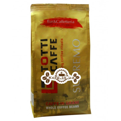Кава Roberto Totti Supremo зернова 1 кг (4051146001341)