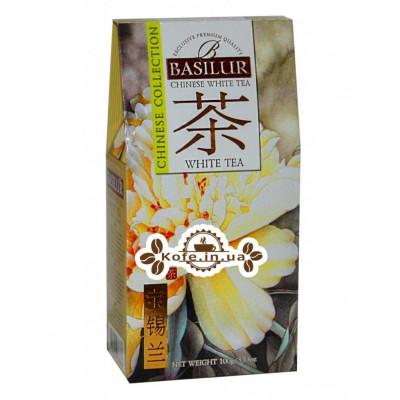 Чай BASILUR White Tea Білий чай - Китайська 100 г к / п (4792252936836)