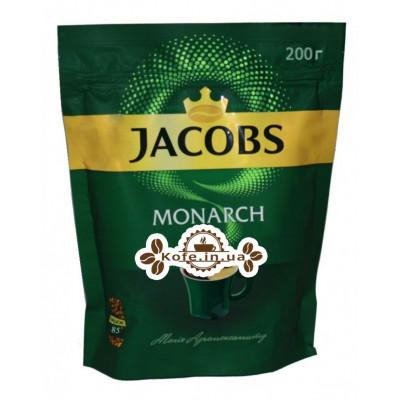 Кава Jacobs Monarch розчинна 200 г економ. пак. (4820206290120)