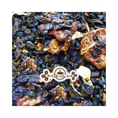 Анабэль зеленый ароматизированный чай Країна Чаювання 100 г ф/п