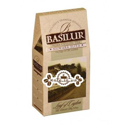 Чай BASILUR Nuwara Eliya Нувара Елія - Лист Цейлону 100 г к / п (4792252100091)