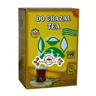 Чай AKBAR Do Ghazal Pure Ceylon Tea Cardamom 500 г к / п (5014176007737)