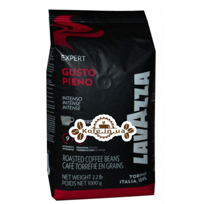 Кофе Lavazza Expert Gusto Pieno Intenso зерновой 1 кг (80000700043381)