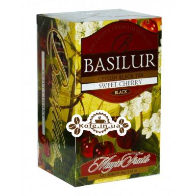 Чай BASILUR Sweet Cherry Черешня - Волшебные Фрукты 20 х 2 г (4792252920866)