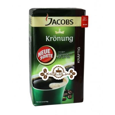 Кава Jacobs Kronung Kraftig мелена 500 г
