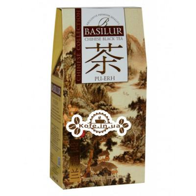 Чай BASILUR Pu Erh Пу Ер - Китайська 100 г к / п (4792252936805)