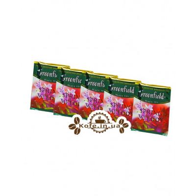Чай Greenfield Spring Melody Весняна Мелодія 100 х 1,5 г