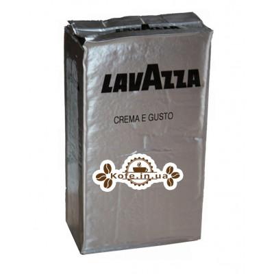 Кава Lavazza Crema e Gusto Forte мелена 250 г (внутрішній ринок)