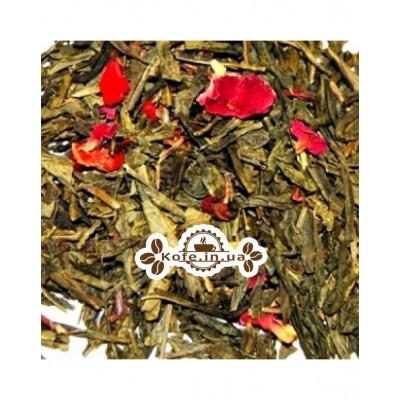 Чабрец Клубника зеленый ароматизированный чай Чайна Країна