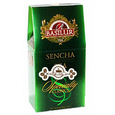 Чай BASILUR Sencha Сенча - Избранная Классика 100 г к/п (4792252920729)