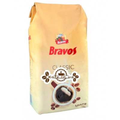 Кава Bravos Classic зернова 1 кг (5997349300128) (4820208400015)