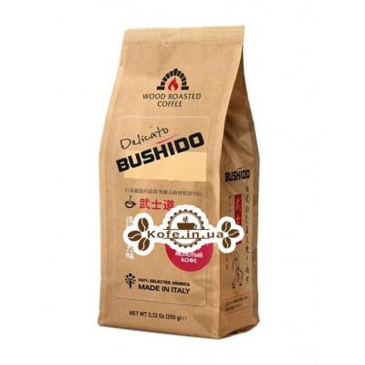 Кофе Bushido Delicato молотый 250 г (5060367340114)