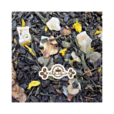 Зеленый с Дыней зеленый ароматизированный чай Чайна Країна