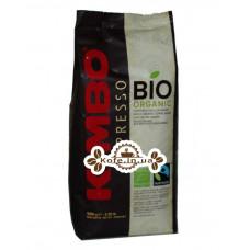 Кава KIMBO Espresso Bio Organic зернова 1 кг (8002200140540)