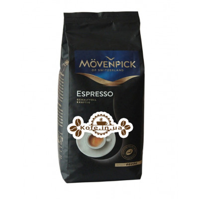 Кофе Movenpick Espresso зерновой 1 кг (4006581506272)