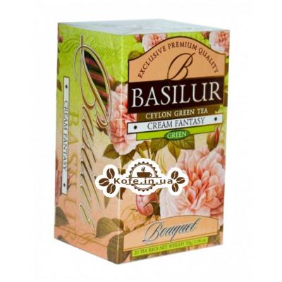 Чай BASILUR Cream Fantasy Кремова Фантазія - Букет 20 х 2 г (4792252002111)