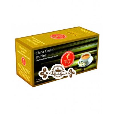 Чай Julius Meinl China Green Jasmine Зелений Жасмин 25 х 1,75 г (9000403822811)