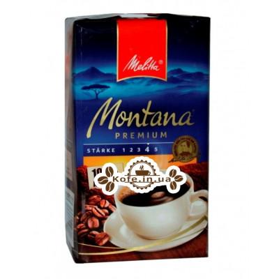Кава Melitta Montana Premium 100% Arabiсa мелена 500 г (4002720002391)