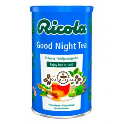Чай Ricola Good Night Спокойной Ночи 200 г ж/б (7610700603369)
