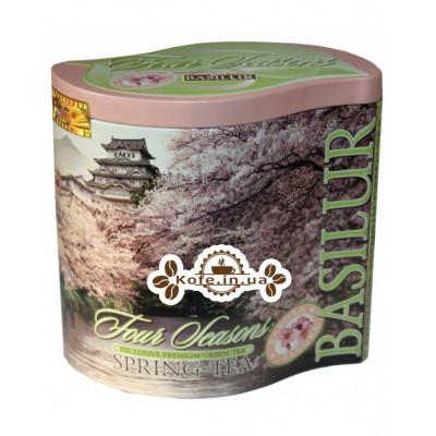 Чай BASILUR Spring Tea Весняний - Пори Року 100 г ж / б (4792252929210)