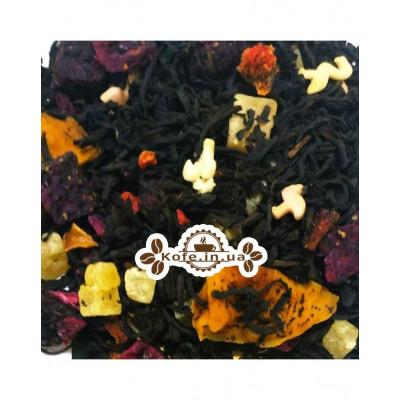 Фламанго чорний ароматизований чай Світ чаю