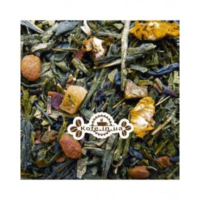 Мангустін зелений ароматизований чай Чайна Країна