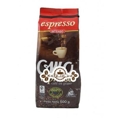 Кофе OMA ESPRESSO 500 г зерновой