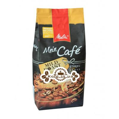 Кава Melitta Mein Cafе Mild Roast зернова 1 кг