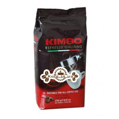 Кофе KIMBO Espresso Napoletano зерновой 250 г (8002200602123)