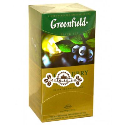 Чай Greenfield Blueberry Nights Чорниця 25 х 1,5 г (4823096802466)