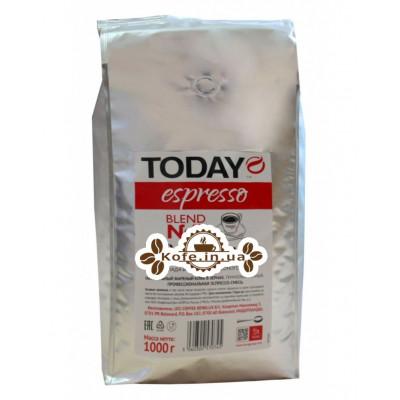 Кава Today Espresso Blend № 7 Professional зернова 1 кг (506030057045)