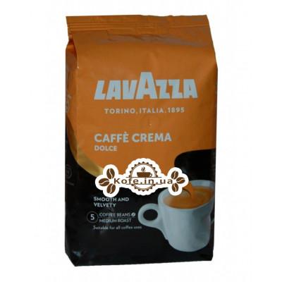 Кава Lavazza Caffe Crema Dolce зернова 1 кг (8000070027435)