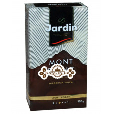 Кава Jardin Gourmet Mont Blanc 100% Arabica мелена 250 г (4823096805474)