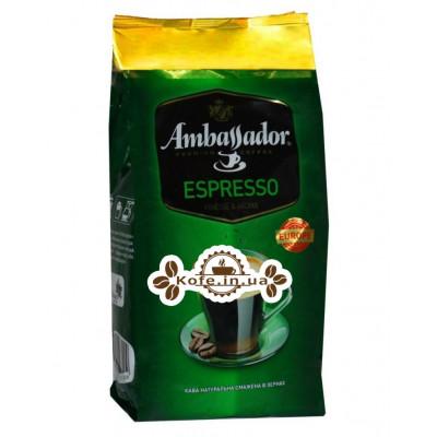 Кава Ambassador Espresso зернова 900 г (8719325127409)