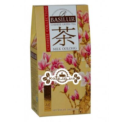 Чай BASILUR Milk Oolong Молочный Оолонг - Китайская 100 г к/п (4792252100220)