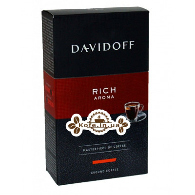 Кава Davidoff Cafe Rich Aroma мелена 250 г (4006067048388)