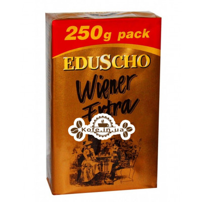 Кофе EDUSCHO Wiener Extra молотый 250 г (5997338170091)